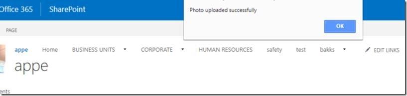 Upload And Set Office 365 Profile Image Using Microsoft
