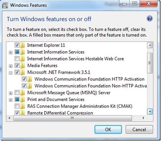 Steps to perform WCF Windows Activation Service hosting