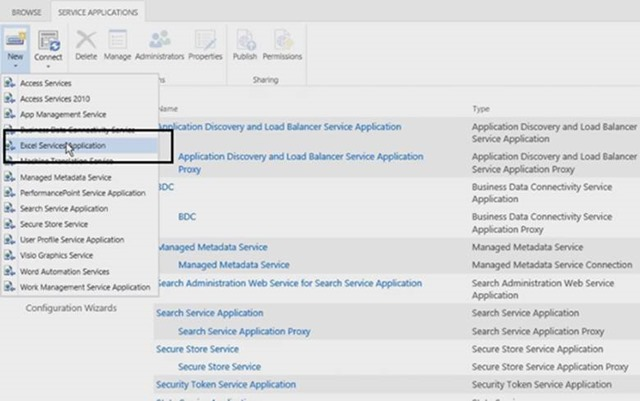 How to Create and Grant DB access to Excel Service app and overpower