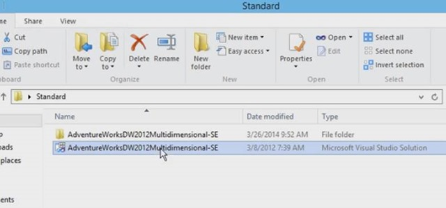 How to Deploy Multidimensional Data Cube using Visual Studio