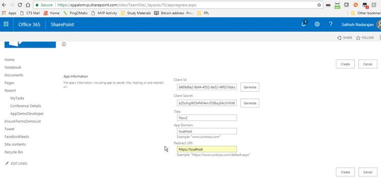 Step by Step Procedure to Call SharePoint Office 365 REST