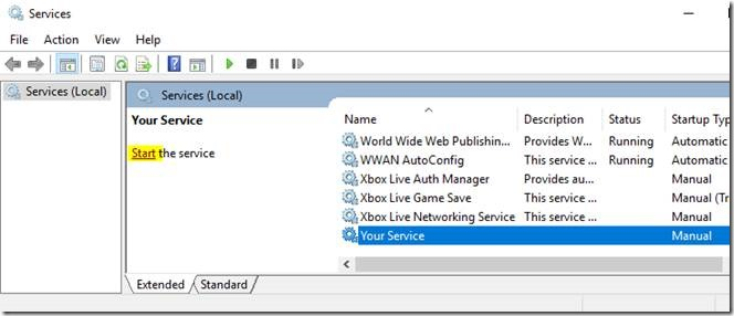 How to debug Windows Service after Installation of Service