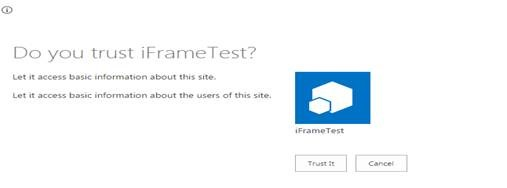 How to bypass cross domain issues to display SharePoint