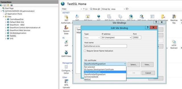 How to Create a Self-Signed Certificate on IIS Server