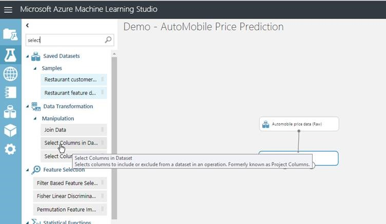 Machine Learning -Part IV – Create a Machine Learning Model
