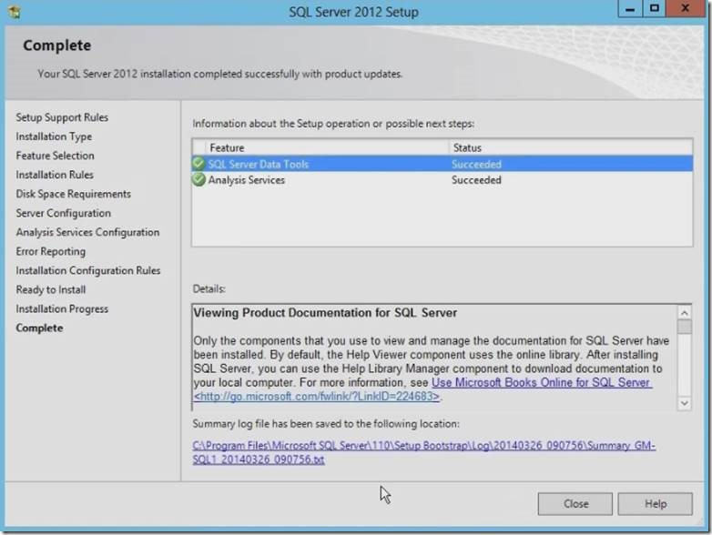 Installation of SQL Server Analysis Service (SSAS) – SQL