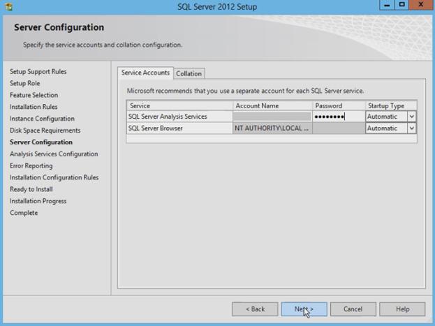 Installation of SQL Server 2012 PowerPivot for SharePoint