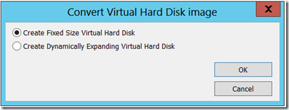 How to Convert and Import a VHD as a VMDK - VMWare