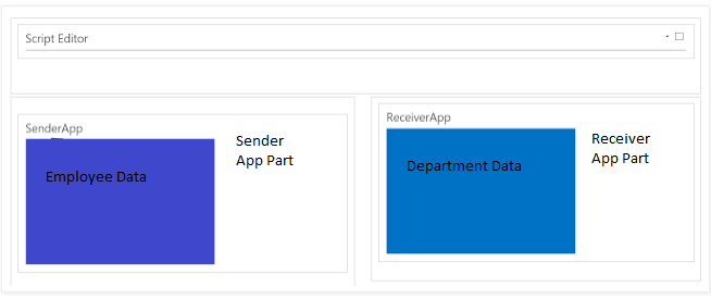 How to create connected SharePoint Hosted App Part using