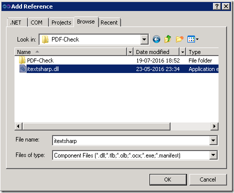 Generate PDF report using iTextSharp ( NET PDF library) in