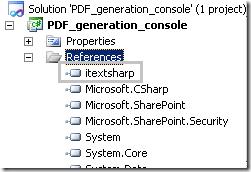 Generate PDF report using iTextSharp ( NET PDF library) in